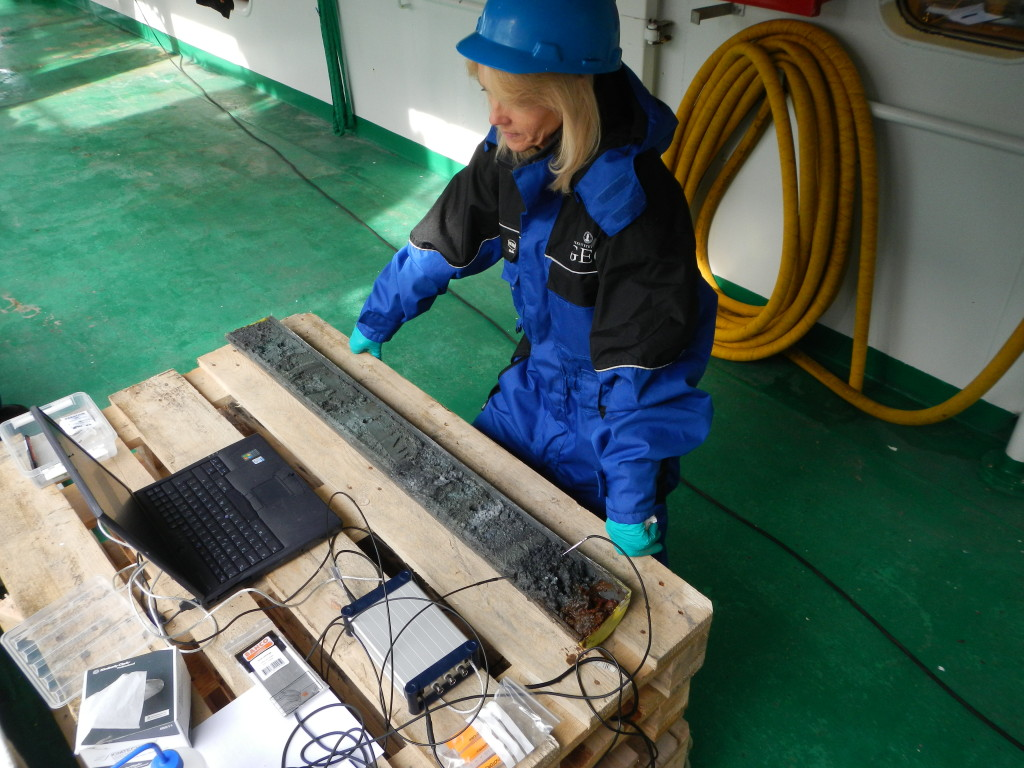 Measuring oxygen in GS14-GC14
